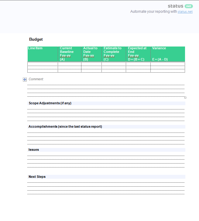 3 Excellent Client Status Report Templates | Free Download