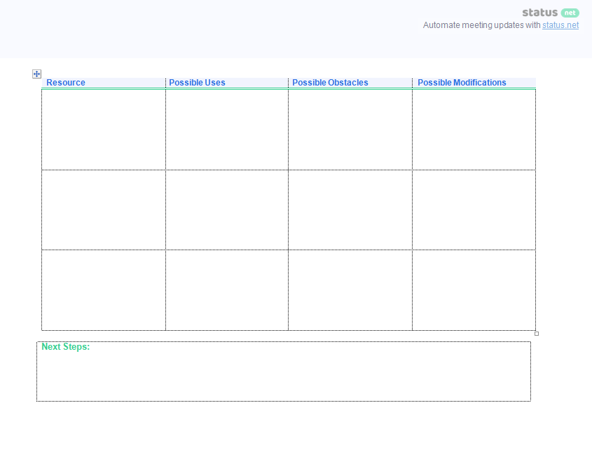 leadership meeting agenda templates screen p4